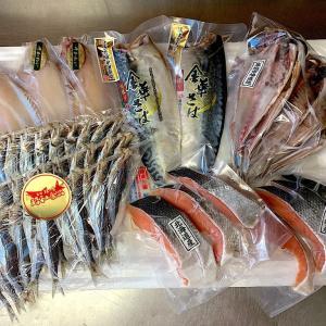 天然鮭と美味い国産干物を、故郷やファミリーへ贈る…お歳暮セットのご紹介です!