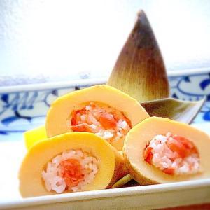 鮭のおにぎり100品連打vol.20 タケノコと紅鮭のチャレンジおにぎり