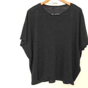 【袖スリットTシャツ】完成!簡単アレンジでケチ買い在庫布を使い切る