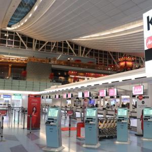 マレーシア ペナン島旅行記⓪日目|羽田空港国際線AirAsiaでいざ出発!