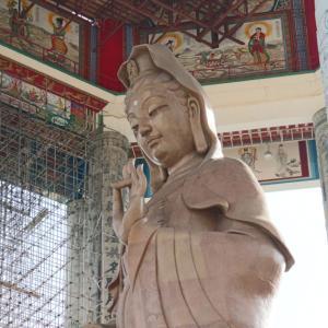 マレーシア「ペナン島旅行記」⑧日目(Part2)|「ケック・ロック・シー(極楽寺)」で巨大観音像を拝む!