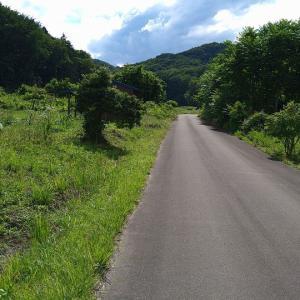 山があるから登るんだ 道があるから走るんだ