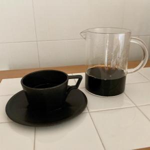 朝の質問とKINTOコーヒー周辺。