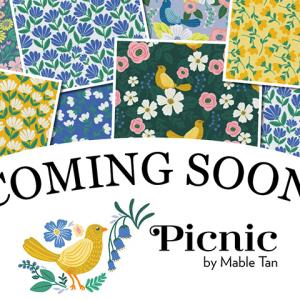 """近日入荷予定 Paintbrush Studio Fabrics """"Picnic"""" by Mable Tan"""
