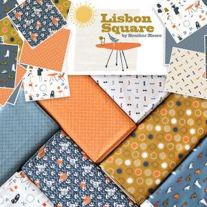 Cloud9 Fabrics Lisbon Square Collection 入荷