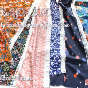 Cloud9 Fabrics Rayon 2020 Collection 入荷