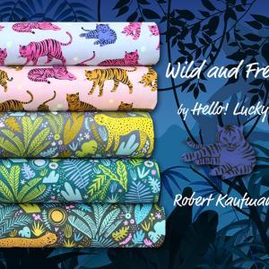 Robert Kaufman Wild and Free Collection 入荷