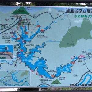 奈良の津風呂湖へバス釣り同行記