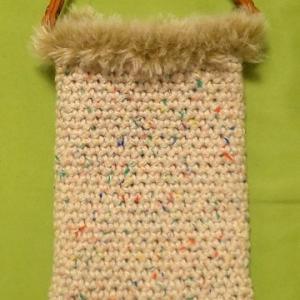 モバ編み スマホケースと徒然