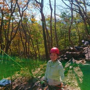 2019.11.08 榛名山/黒岩トップロープクライミング講習会(2日目)