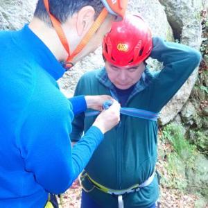 2019.11.13 一般登山者が登山道の危険個所を安全に通過するための講習会