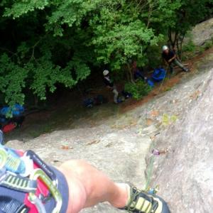 2021.06.13 白河/聖ヶ岩トップロープクライミング講習会