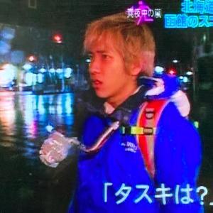 ニノちゃんに起こった大事件@真夜中の嵐