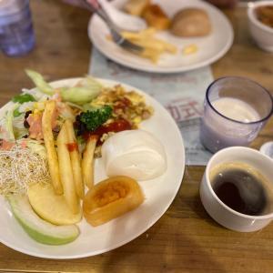 朝食が最大の見所 宜蘭羅東HERB ART HOTEL
