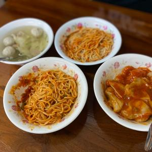 羅東のローカル麺「南陽香辣麵」