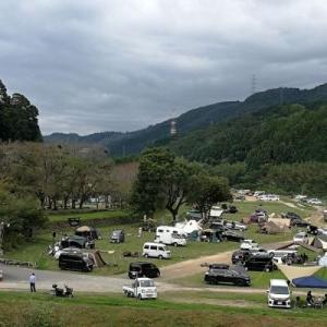 コロナウイルス感染予防でキャンプ場まで!!