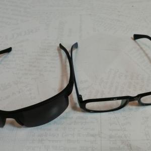 眼帯代わりのサングラス