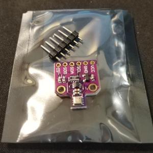 [電子工作][IYH] BME680 温湿度気圧空気品質センサー搭載モジュールを購入してみた。
