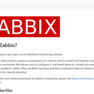 [監視][container][自分用メモ] zabbix-docker 4.4.8のdocker-compose.ymlが色々と変わっていた。