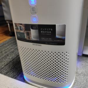 [自分用メモ][IYH] アイリスオーヤマ 空気清浄機10畳 IAP-A25-W を購入した。