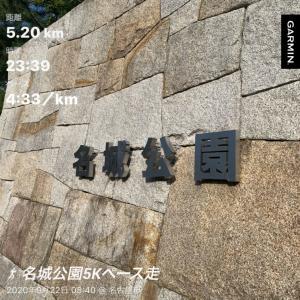名城公園ペース走と久屋大通公園