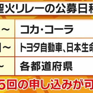 東京2020オリンピック聖火ランナー応募