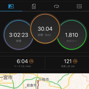 7/14(日)30キロLSD