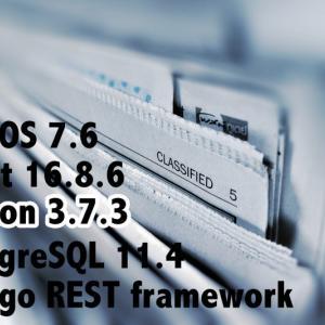 React アプリ開発:Backend 構築 〜 pyenv & Anaconda の Python 環境 〜|CentOS7