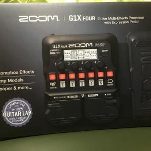 ZOOMのG1X fourを購入