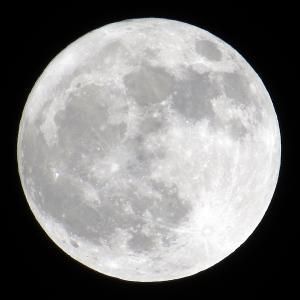 霜月の満月
