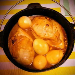 自分の飯は自分で炊け【トンチキ親子なダッチオーブンのトンは豚じゃねえ】