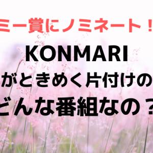 こんまりこと近藤麻理恵さんが米エミー賞候補になった番組はどんな番組?エミー賞はすごい賞
