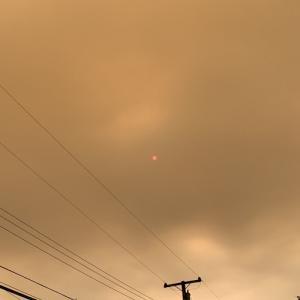 カリフォルニアの山火事 2020