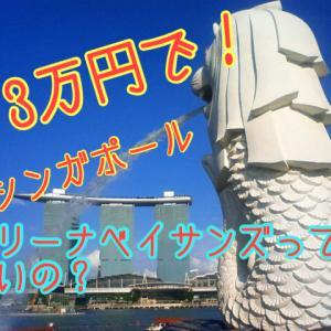 【シンガポール】あの船が乗っているホテルマリーナベイサンズって宿泊高い⁇