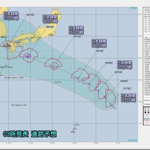 台風は大丈夫だろう。。