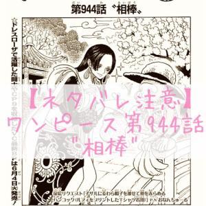 """ワンピース最新話のネタバレ/ONE PIECE第944話""""相棒"""""""