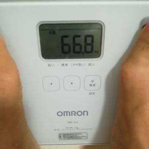 71キロ→66.8キロ 時短ダイエット❗15分だけ。リアルガチで一週間で1キロ減成功中