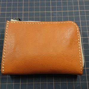 L型ファスナー小型財布