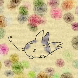【うさぎ絵日記】ズッキューーーン ♡ うさぎの 熱視線 【漫画 イラスト】