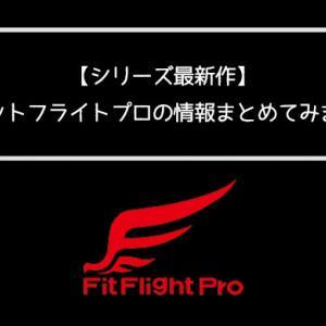 【2020年2月発売】シリーズ最新作のFit Flight Pro(フィットフライトプロ)の情報をまとめました【形状は全18種類】