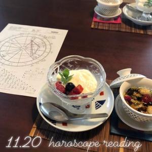 【イベント】11/20(水)ホロスコープリーディング@cafeホトリ*満席となりました
