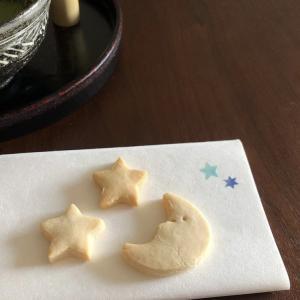 お月さまとお星さま|米粉クッキーで、一服。