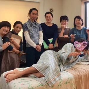 本日は、卒業講習に取り組んだ療術師のたまごたちと合同勉強会でしたd(^_^o)