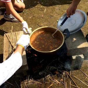 ダッジオーブンでカレーを作ろう