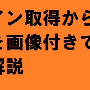 ドメイン取得~設定のやり方を徹底解説!【バリュードメイン編】