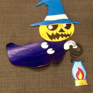 幼稚園ミッション ハロウィンパーティーの飾りを作成せよ