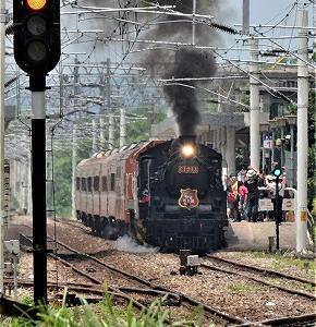 2020 仲夏寶島號  【 CT270型蒸汽火車日本C57型同型  】