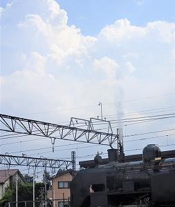 転車台に載るC11 【  下今市機関区 】