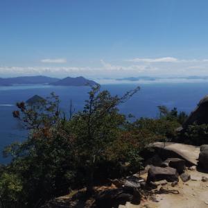 宮島の弥山に登ったら意外ときつかった件