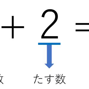 大学数学から学ぶ「たされる数」と「たす数」の大切さ